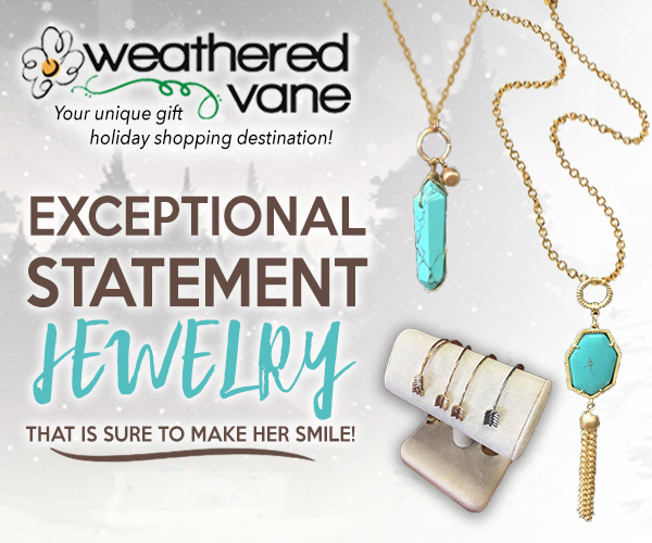 Exceptional statement jewelry at weathered vane in rapid city