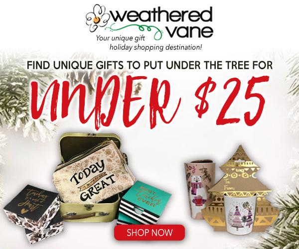 Looking for perfect gifts on a budget? Call Weathered Vane in Rapid City